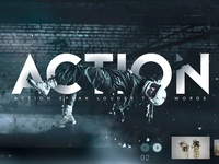Action landing page 2