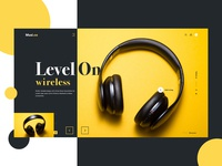 Headphone - Landing Page