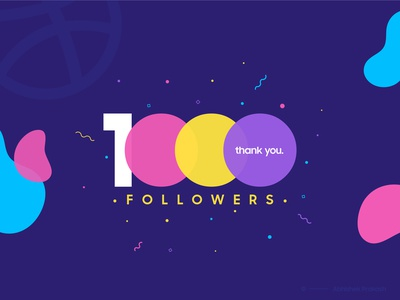 1000 Followers - Milestone