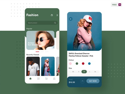 FREEBIE - Fashion Shopping App