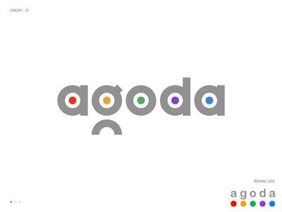 Agoda logo redesign concept 01