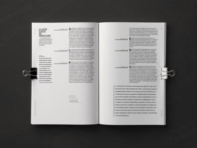 Magazine | Armas de la crítica grid layout grid typography tipografía editorial diseño editorial type design editorial design