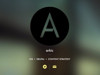 Arkic Logo and Placeholder