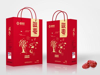 枣 包装 red packagedesign 品牌