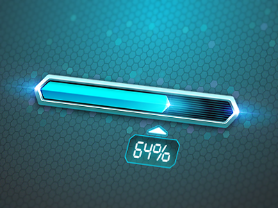 Progress Bar Loader by Andru Gavrish on Dribbble