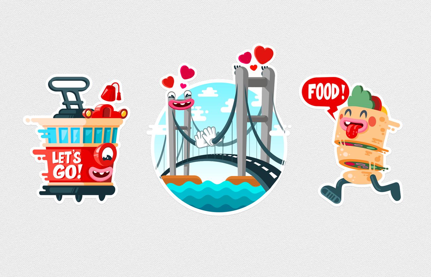 Istanbul viber stickers