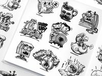 Sticker Pack Sketches