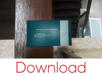FREE BUSINESS CARD MOCK UP DOWNLOAD