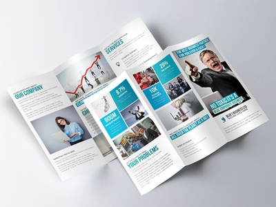 AMZING TRIFOLD BROCHURE MOCKUP ABSOLUTELY FREE DOWNLOAD