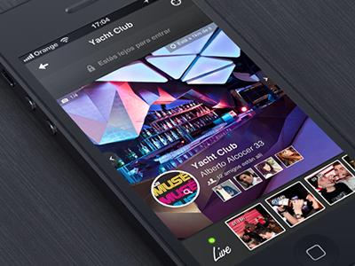 iOs Design - Nightlife App
