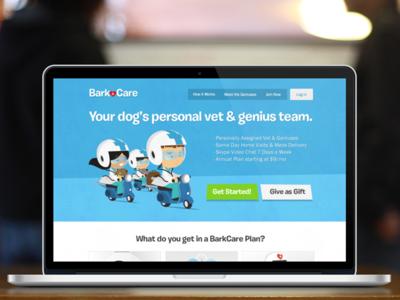 WebDesign - BarkCare