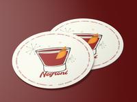 Negroni Coaster