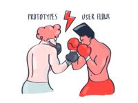 Prototypes VS User Flows