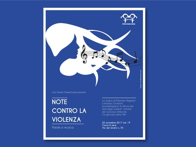 Poster - No violence, but Music!