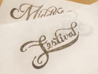 Festival Script