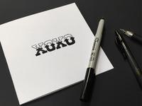 XOXO Lettering