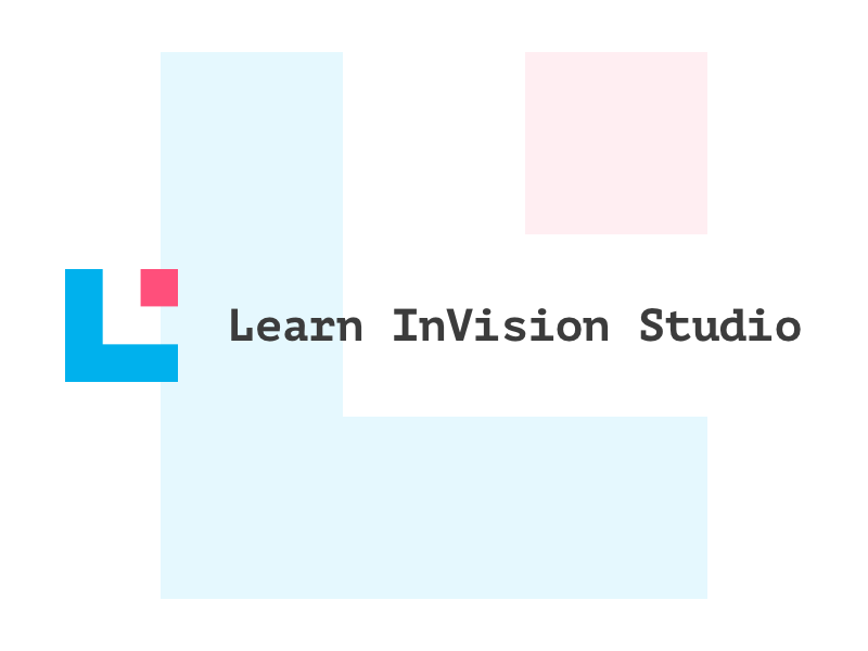 Learn Invision Studio design system invision studio branding logo learning ux ui prototype education invision