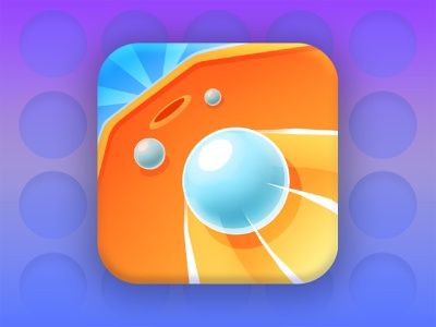 Pool Boom icon design app icon mobile game game art adobe photoshop