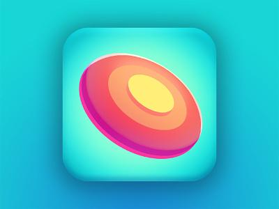 Frisbee Icon adobe photoshop game art