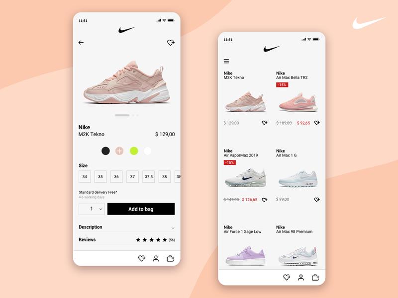 Nike shop app web application website mobileapp mobile design ui design ux design webapp shoes payment shop webdesign ui ux app nike