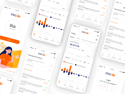 Banking app sketch money bank design clean web application ux design ux ui app