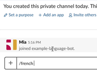 LanguageBot Slack App - translate languages with /slash commands