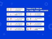 LanguageBot | Slack 内の外国語を話すチームメンバーと話す