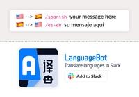 ¿Tienes colegas de habla inglesa con los que trabajas en Slack?