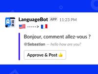 LanguageBot - Slack App Translation Service