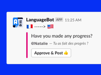 LanguageBot / language translation Bot for Slack