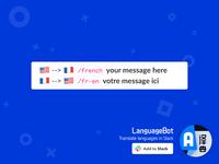 LanguageBot / Slack App — traduire entre les langues en slack