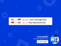 LanguageBot / Slack App — übersetzen zwischen Sprachen in Slack