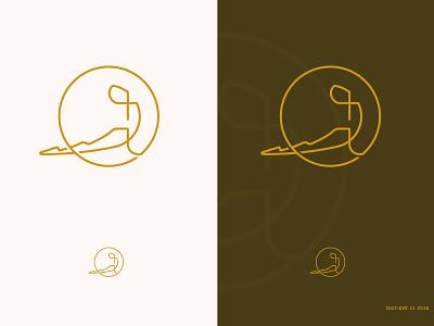Yoga School Logo logo proportion golden yoga