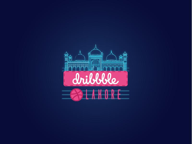 Dribbble Meetup Lahore official logo dribbble best shot meetups logo design creatives designers lahore dribbble