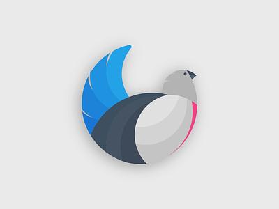 Lark Logo bozeman montana lark bunting lark bird logo bird