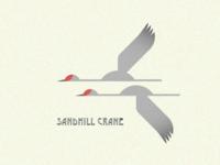 Native Bird Series - Sandhill Cranes