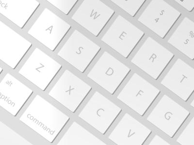 Macbook Pro Keypad Detail