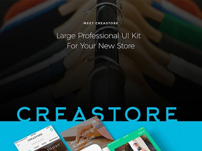 Creastore Ui Kit Shot Dribble