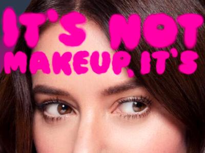 It's not makeup, it's ammunition.