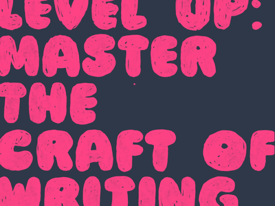 How to level up: master the craft of writing copywriting chris do seth goldin storybrand skills creative lead promotion level up writing