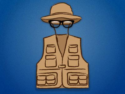 Invisible Man. Safari Edition. avatar invisible sans-pants
