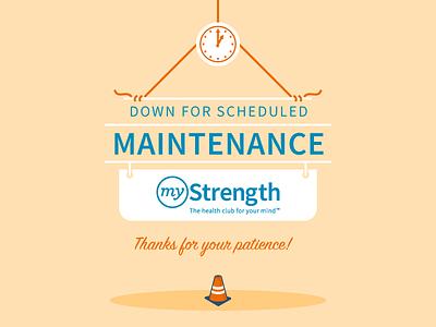 Maintenance down time maintenance
