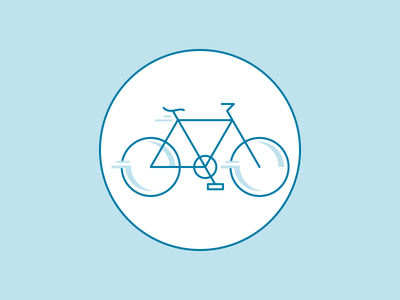 Cruisin' brah illustration icon bike