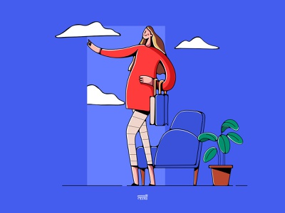 Online shop online store onlineshopping shopping color minimal web app ux branding ui illustration flat vector character 3d 2d