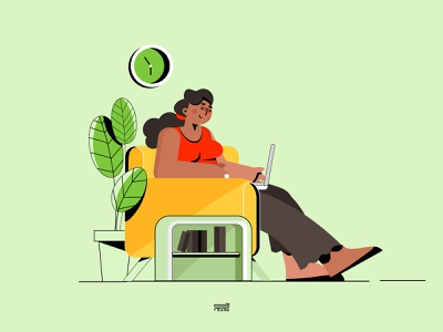 Freelancer skills job searching freelance freelancer design color web ux app branding ui illustration vector flat character 3d 2d
