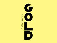 Gold Champagne Logo