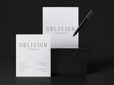 Oblivion Stonemasonery