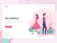 Millennials landing page