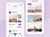 Traveler social app for iPhone Xs