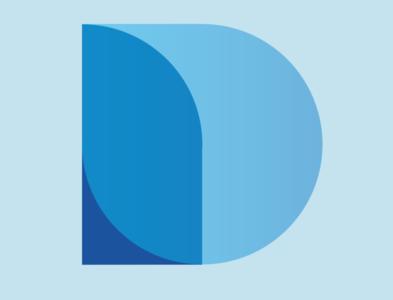 Unused D Logo Mark